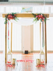 St. Louis Chuppah Rental at Neo on Locust, care of http://www.alisonduffyphotography.com/