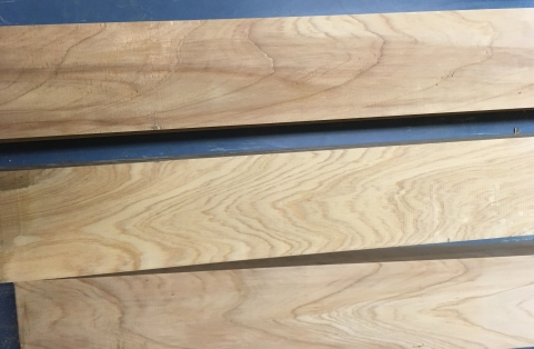 Jointed Cypress boards