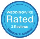 WeddingWireRatedBadge